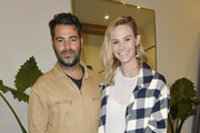 Jonathan Simkhai and Meghan King Edmonds attend Children's Hospital Los Angeles Make March Matter Fundraising Campaign at Jonathan Simkhai on March 10, 2020 in West Hollywood, California.