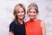 Former Ford Models CEO Katie Ford and artist/activist Molly Gochman attend The Children's Rights Ninth Annual Benefit at The Lighthouse at Chelsea Piers on October 29, 2014 in New York City.