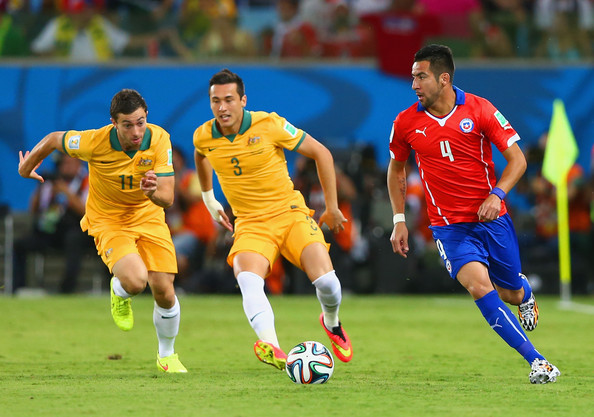 Chile v Australia: Group B (Tommy Oar)