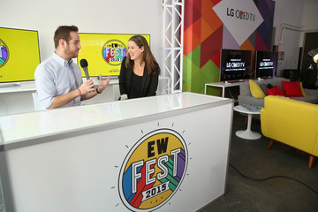 Chilina Kennedy Entertainment Weekly's First- Ever 'EW Fest,' Presented by LG OLED TV