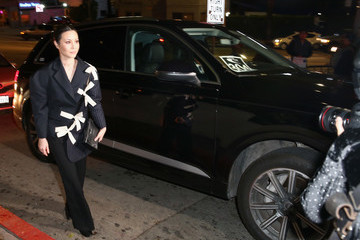 China Chow Audi Arrivals at W Magazine's Best Performances Party