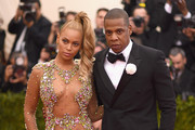 Beyonce and Jay Z attend the 'China: Through The Looking Glass' Costume Institute Benefit Gala at the Metropolitan Museum of Art on May 4, 2015 in New York City.