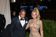 """Jay Z and Beyonce attend the """"China: Through The Looking Glass"""" Costume Institute Benefit Gala at the Metropolitan Museum of Art on May 4, 2015 in New York City."""