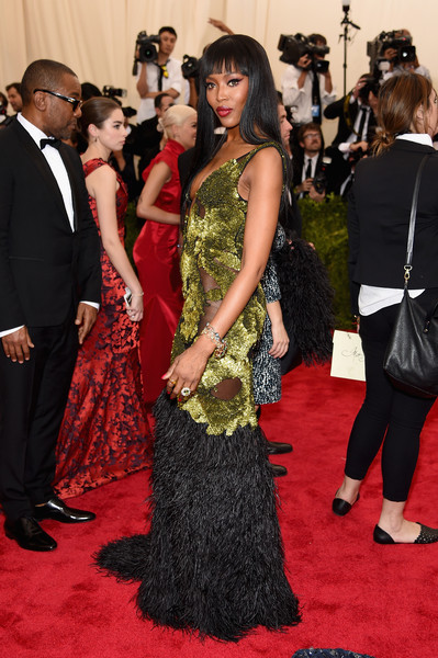 Naomi Campbell in Burberry Prorsum
