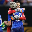 Abby Wambach and Hope Solo Photos