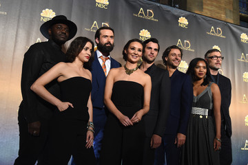 Chipo Chung Adam Levy 'A.D. The Bible Continues' New York Premiere Reception