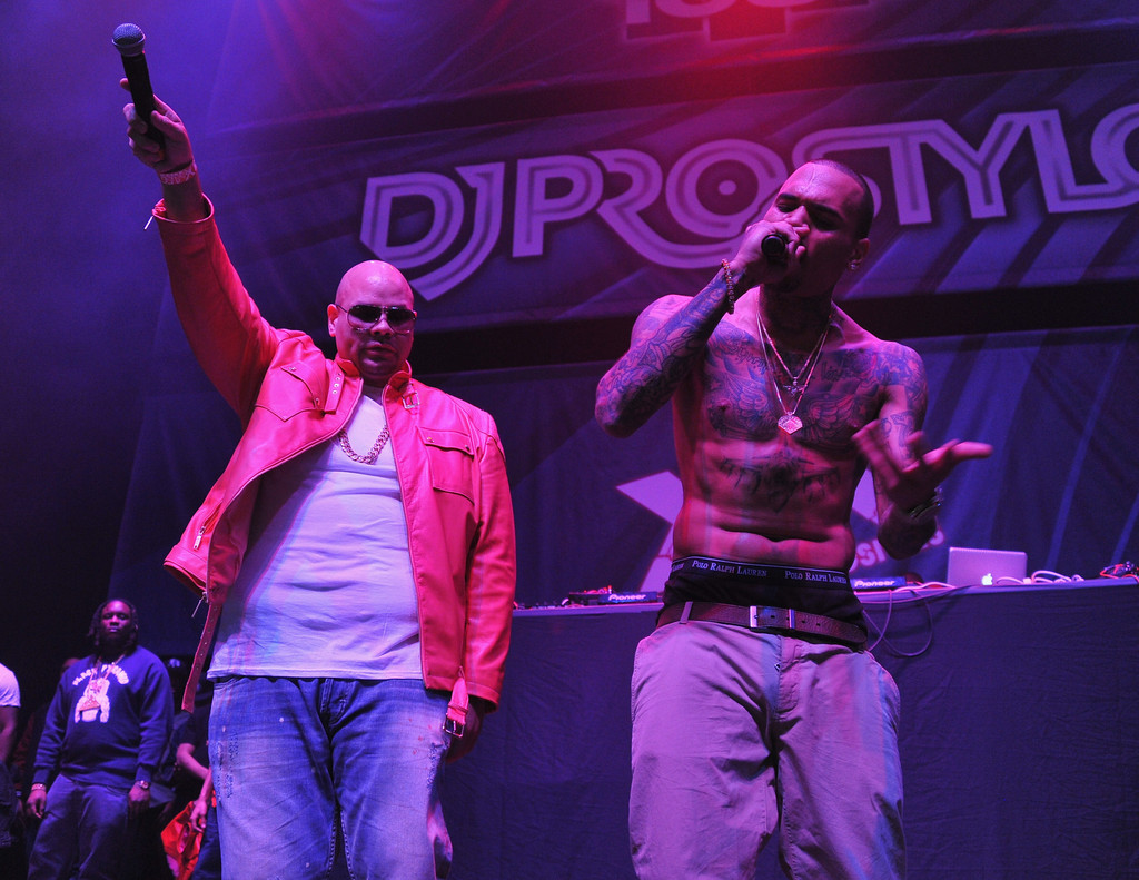 Fat Joe & Chris Brown Perform Another Round Live