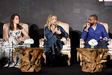 Chiwetel Ejiofor Global Press Conference For Disney's 'Maleficent:  Mistress of Evil'