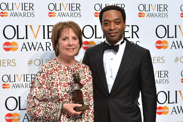 Chiwetel Ejiofor The Olivier Awards - Winners Room