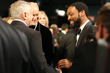 Chiwetel Ejiofor Behind the Scenes at the Oscars