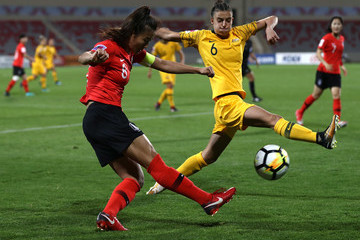 Cho So Hyun Australia v South Korea - AFC Women's Asian Cup Group B