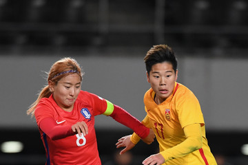 Cho So Hyun South Korea v China - EAFF E-1 Women's Football Championship
