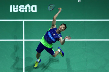Chong Wei Lee BWF Dubai World Superseries Finals - Day One