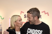 Julia Carey and Chris O'Dowd attend Choose Love Launches In Los Angeles On Giving Tuesday on December 3, 2019 in Los Angeles, California.