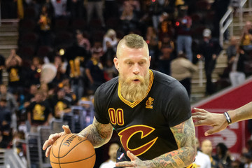 Chris Andersen New York Knicks v Cleveland Cavaliers