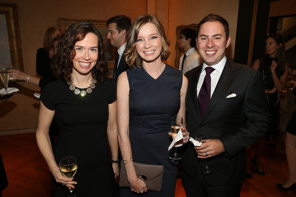 Kristen Soltis Anderson, her husband Chris Anderson and Elle