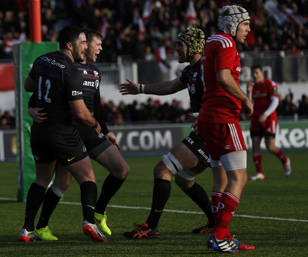 Saracens v Munster Rugby - European Rugby Champions Cup