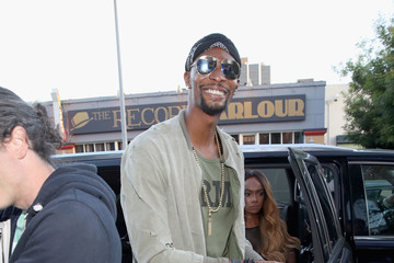 Chris Bosh DuJour's Summer Issue Cover Party with Lily James Presented by Belvedere Vodka