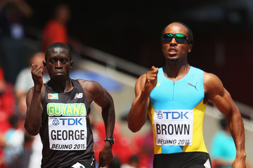 Chris Brown 15th IAAF World Athletics Championships Beijing 2015 - Day Two