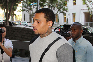 Chris Brown Chris Brown Court Appearance