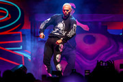 Chris Brown performs at Staples Center on October 11, 2019 in Los Angeles, California.