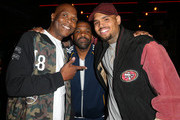 Chris Brown and Big Boy Photos Photo