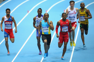 Chris Brown IAAF World Indoor Championships: Day 1
