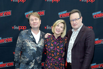 Chris Chibnall 2018 New York Comic Con - Day 4