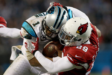 Chris Clemons NFC Championship - Arizona Cardinals v Carolina Panthers