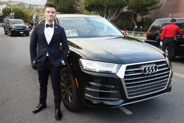Chris Colfer Audi Arrives At The 25th Annual Elton John AIDS Foundation's Academy Awards Viewing Party