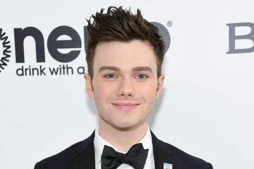 Chris Colfer 25th Annual Elton John AIDS Foundation's Oscar Viewing Party - Red Carpet