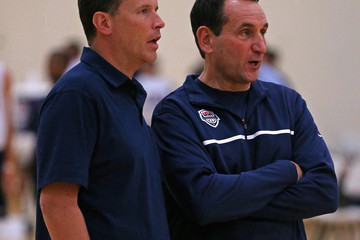 Chris Collins USA Basketball Training Session