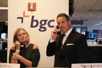 Chris Cuomo Annual Charity Day Hosted By Cantor Fitzgerald, BGC and GFI - BGC Office - Inside