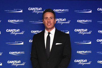 Chris Cuomo Annual Charity Day Hosted By Cantor Fitzgerald, BGC and GFI - Cantor Fitzgerald Office - Arrivals