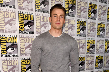 "Chris Evans Marvel's Hall H Press Line For ""Ant-Man"" And ""Avengers: Age Of Ultron"""