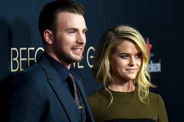 Chris Evans Guests Attend the Premiere of Radius and G4 Productions' 'Before We Go'