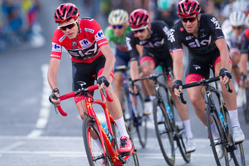 Chris Froome Vuelta a Espana - Stage 21