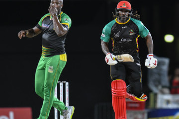 Chris Gayle St Kitts & Nevis Patriots vs. Jamaica Tallawahs - 2018 Hero Caribbean Premier League (CPL) Tournament