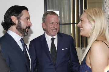 Chris Gialanella Los Angeles Confidential Emmys Celebration With Elisabeth Moss