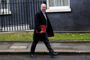 Chris Grayling Government Ministers Arrive for the Weekly Cabinet Meeting