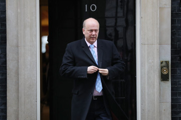 Chris Grayling Government Ministers Attend Pre-Budget Cabinet