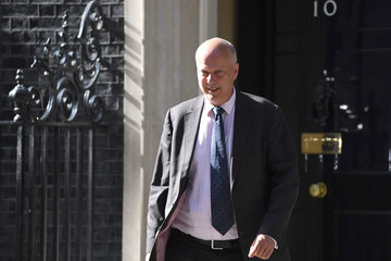 Chris Grayling Theresa May Re-Shuffles Her Cabinet After the General Election