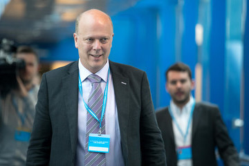 Chris Grayling The Conservative Party Conference 2016 - Day Three