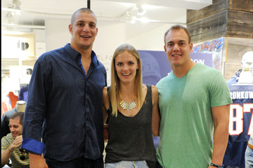 Chris Gronkowski HUDSON x Bloomingdales In-store Event