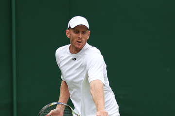 Chris Guccione Wimbledon Tennis Championships: Day 3