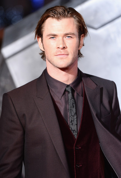 Chris Hemsworth - 'Thor: The Dark World' Premieres in London