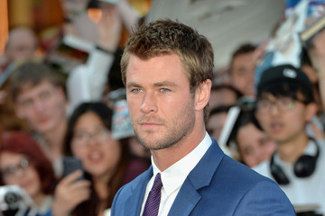 Chris Hemsworth 'The Avengers: Age Of Ultron' - European Premiere - Red Carpet Arrivals