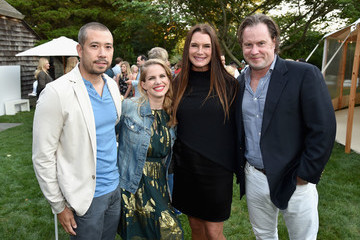 Chris Henchy NET-A-PORTER Co-Hosts The GOOD+ Foundation's Hamptons Summer Dinner - Arrivals