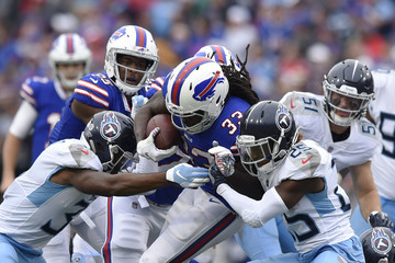 Chris Ivory Tennessee Titans vs. Buffalo Bills