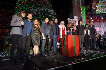 Chris Jamison Universal CityWalk Tree Lighting Ceremony